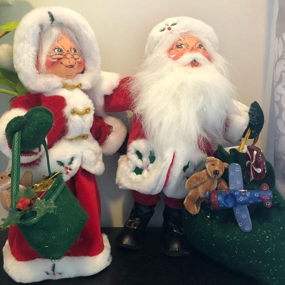 Annalee Mr & Mrs Claus